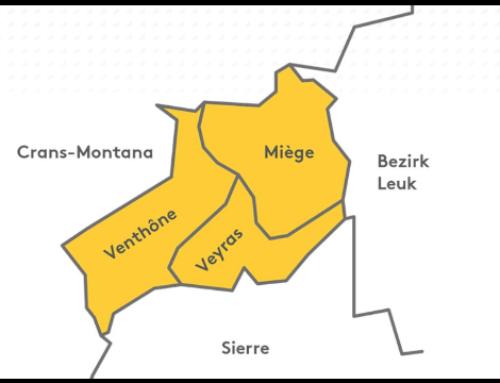 Fusion des communes de Miège, Venthône et Veyras
